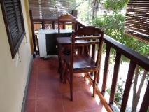 Villa Champa: balcony/terrace