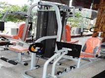 Excel River View Hotel: fitness room