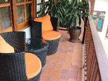 Le Sen Boutique Hotel: balcony/terrace