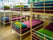 سرير واحد في مهجع لستة أشخاص (للإناث فقط)