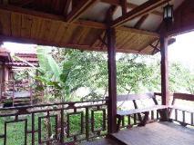 Phoukham Garden Hotel and Resort: balcony/terrace