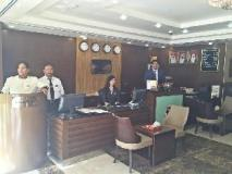 Ramee Rose Hotel Apartments: reception