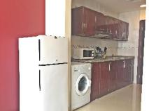 Ramee Rose Hotel Apartments: kitchen
