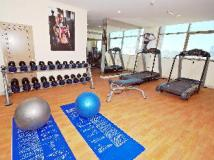 Ramee Rose Hotel Apartments: fitness room