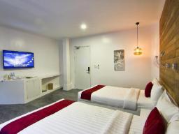 Premier-huone kahdella vuoteella