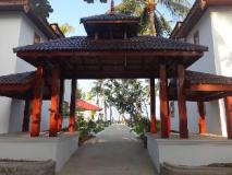 Hotel ACE Ngapali Beach: entrance