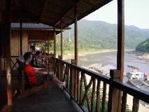 Mekong Riverside Lodge: balcony/terrace