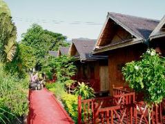 Hotel in Laos   Mekong Riverside Lodge