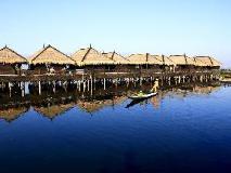Sky Lake Inle Resort: interior