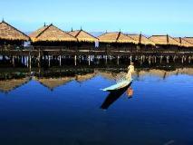 Sky Lake Inle Resort: view