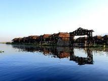 Sky Lake Inle Resort: entrance