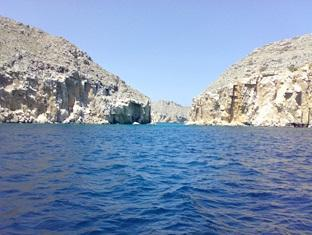 Al Taif Accommodation Khasab - Scenery during Dhow Cruise