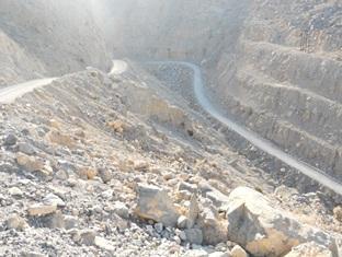 Al Taif Accommodation Khasab - Mountain Safari View