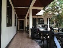 Vientiane Garden Hotel: balcony/terrace