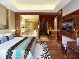 Premium Indulgence met Uitzicht op stad of zwembad - kingsize bed
