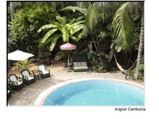 Bopha Angkor Hotel Siem Reap - Swimming Pool and Garden