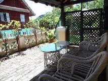 Le Calao Inn: balcony/terrace