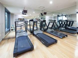 乙支路合作公寓 首爾 - 健身房