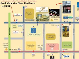 1 Bedroom Suite at National Stadium BTS Station Bangkok - Location Map