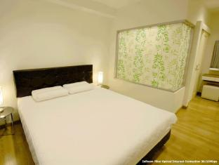 1 Bedroom Suite at National Stadium BTS Station Bangkok - Bed Room