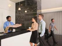 Melbourne Short Stay Apartments MP Deluxe: reception