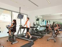 Melbourne Short Stay Apartments MP Deluxe: fitness room