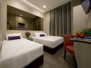 V Hotel Bencoolen Singapur - Külalistetuba