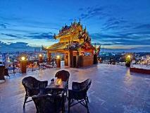 Shwe Ingyinn Hotel Mandalay: view