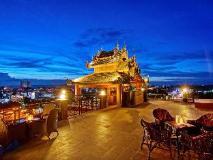 Shwe Ingyinn Hotel Mandalay: pub/lounge