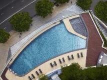 Courtyard By Marriott Hong Kong Sha Tin Hotel: swimming pool