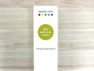 Fortuna Hotel Hanoi Hanoi - Agoda Gold Circle Award 2014