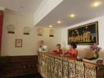 Raza Gyo Hotel: reception