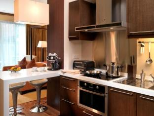 Micasa All Suite Hotel Kuala Lumpur - One Bedroom Superior Suite Kitchen