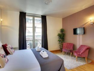 Short Stay Apartment Museum View Parijs - Gastenkamer