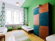 1 Cama en Dormitorio de 4 Camas