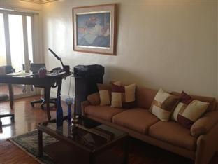 Suite 5C LPL Tower Serviced Apartments Manila - Common Living Area