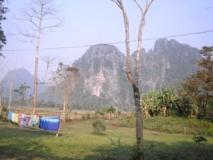 Sevilai Guesthouse: view