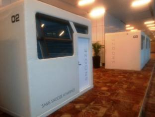 델리 공항 스누즈 - 슬리핑 팟즈 호텔