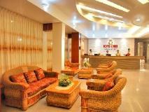 Hotel Queen: lobby