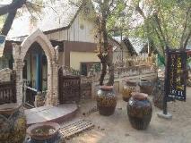 Mya Thida Hotel: entrance