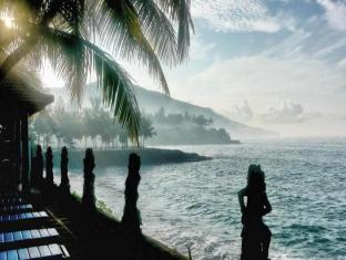 Anom Beach Hotel Candidasa Bali - Uitzicht