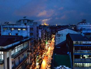Hotel Grand United Chinatown Yangon - Shwedagon Pagoda View From Penthouse Suite