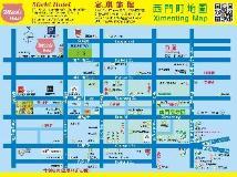 Michi Hotel: map