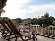 Manichan Guesthouse: balcony/terrace