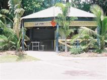 Flametree Tourist Village: garden