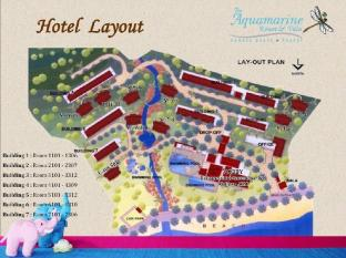 Aquamarine Resort and Villa Пхукет - План поверхів