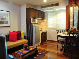 The Siam Heritage Boutique Suite Bangkok - Executive Suite - Living Area