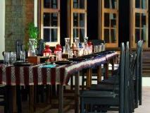 Han Thar Gardens Resort: restaurant