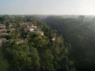 Kamandalu Ubud Resort Bali - Aerial shot with valley view