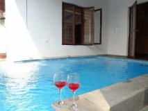 UNA Homestay Villa Arcangela: swimming pool